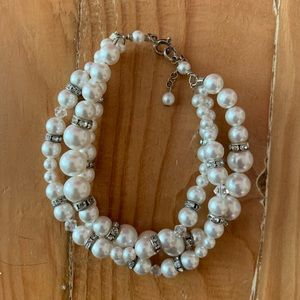 Classic Twisted Pearl Bracelet